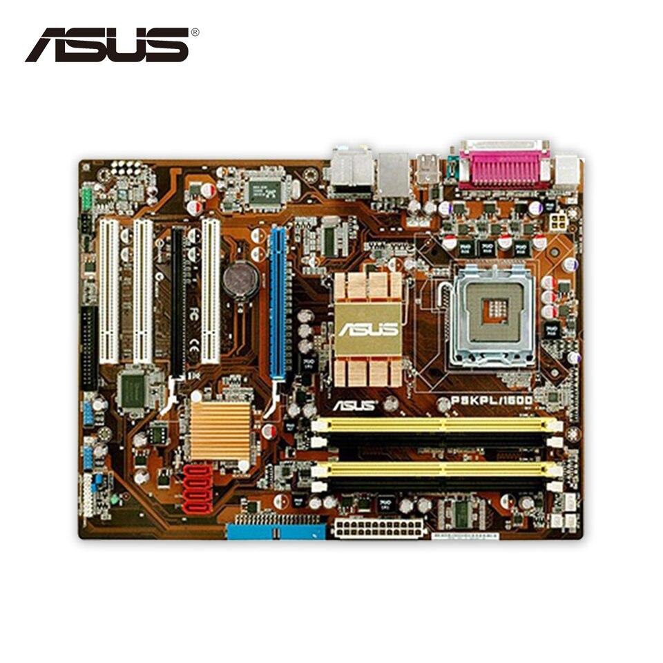 Asus P5KPL/1600 Original Used Desktop Motherboard G31 Socket LGA 775 DDR2 4G SATA2 UBS2.0 ATX монитор lg 31 5 32mp58hq p 32mp58hq p aruz