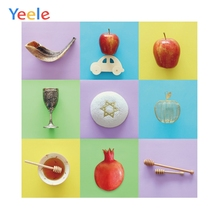 Yeele Beautiful and Fresh Style Delicious Food Party Photography Backgrounds Personalize Photographic Backdrops For Photo Studio