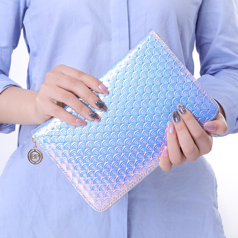 BORN PRETTY 72 Slots Holographic Holo Snakeskin Stamping Plate Colletion Holder Nail Art Plate Organizer