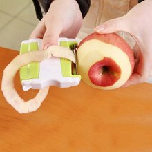 2018 Potato Slicing Stainless Peeling Knife Fruits Vegetable Tools Kitchen Dining Bar Peeler Fruit Planer Peeling Machine Peeler(China)