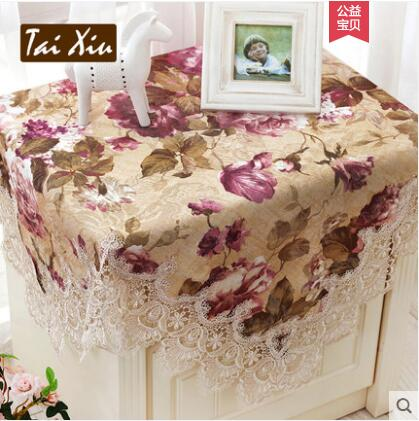 Europe Luxury Embroidered Tablecloth Table Dining Table