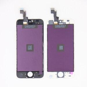Image 5 - En ucuz fiyat LCD ekran için Pantalla iPhone 5 S 5C 5 SE LCD dokunmatik ekran Digitizer meclisi + araçları + TPU + cam
