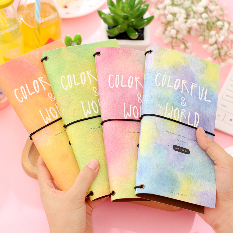 все цены на travel journal cute stationery dream brief long design diary tsmip notebook organizer pocket planner all new traveler's notebook в интернете