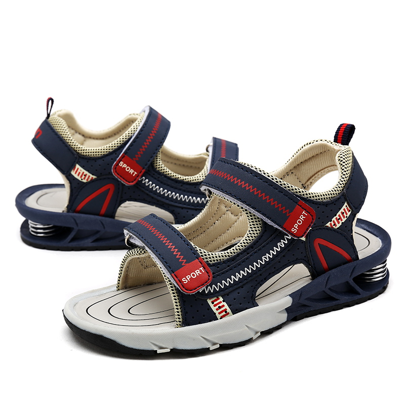 Karstā pārdošana 2019 Vasara Bērnu pludmales sandales modes apavi meitenēm Izmērs 25-38 zēnu apavi bērni neslīdoši sandālijas bērnu sporta veidi