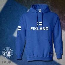 Finnland hoodies männer sweatshirt schweiß neue hip hop streetwear socceres jerseyes fußballer trainingsanzug nation Finnische flagge Finn FI