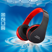 NX-8252 Professional Foldable Wireless Bluetooth Headphone Super Stereo Bass Effect Portable Headset