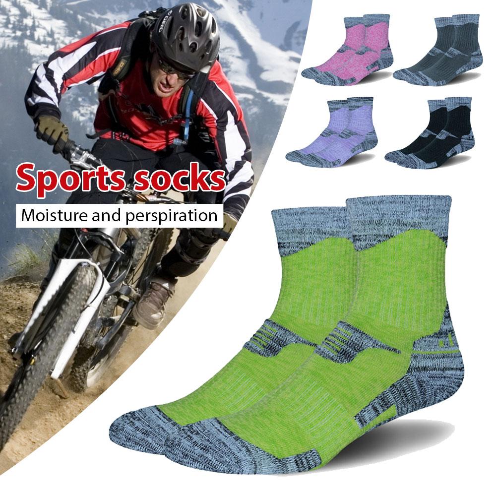 Towel Socks Mountaineering Socks Skiing Socks Cotton Sturdy Motion Multicolor Durable