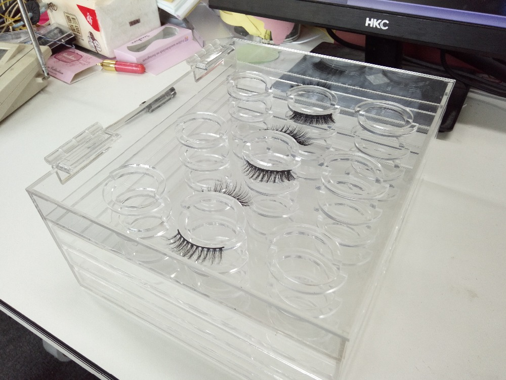 New full strip lashes box Acrylic Eyelash Extension Tool Lash Holder makeup Free shipping best price mgehr1212 2 slot cutter external grooving tool holder turning tool no insert hot sale brand new
