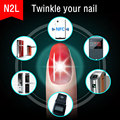 Wholesale 10pcs/lot N2 13.56mhz Smart Nail Sticker Decal 3D Design Tattoo for N2F APP lock Private Share NFC as Elevator card