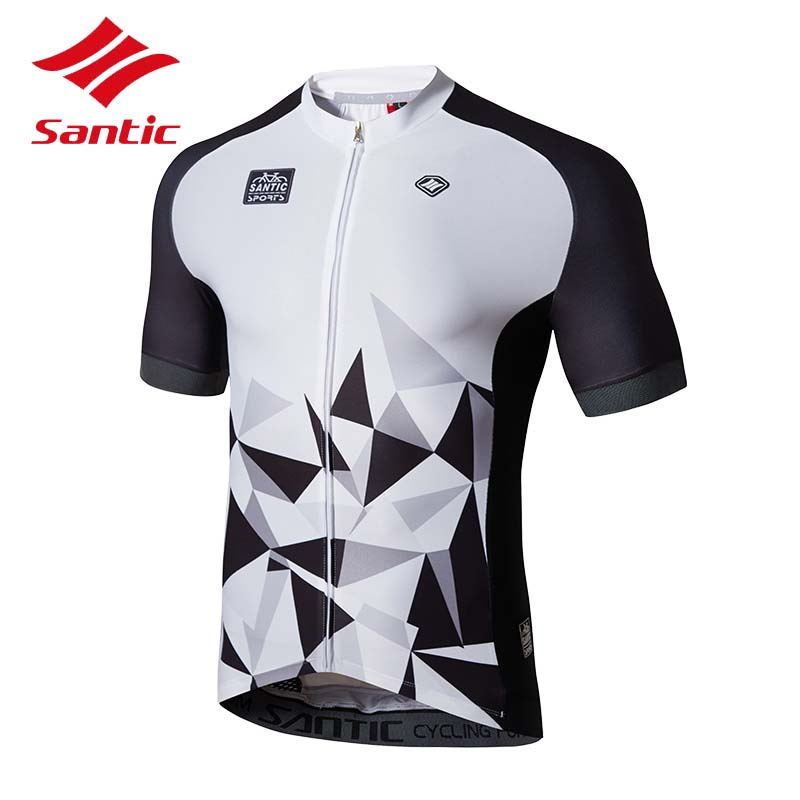 Santic Cycling Jersey MTB 2018 Road Bike Bicycle Jerseys Men Breathable Quick Dry Tour De France Cycling Clothing Ropa Ciclismo veobike 2017 pro men cycling jersey set breathable mtb clothes quick dry bicycle summer sportswear bike jerseys ropa ciclismo