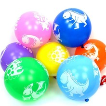 Dinosaur Latex Balloons 50pcs/lot12 Inch Thick Color Print Ballon Baby Shower Decorations Boy Baloon Birthday Party Balloon