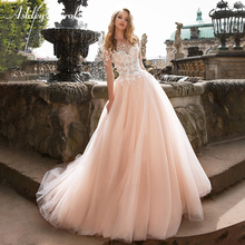 Ashley Carol Short Wedding Dresses 2019 A-Line Bride Dress