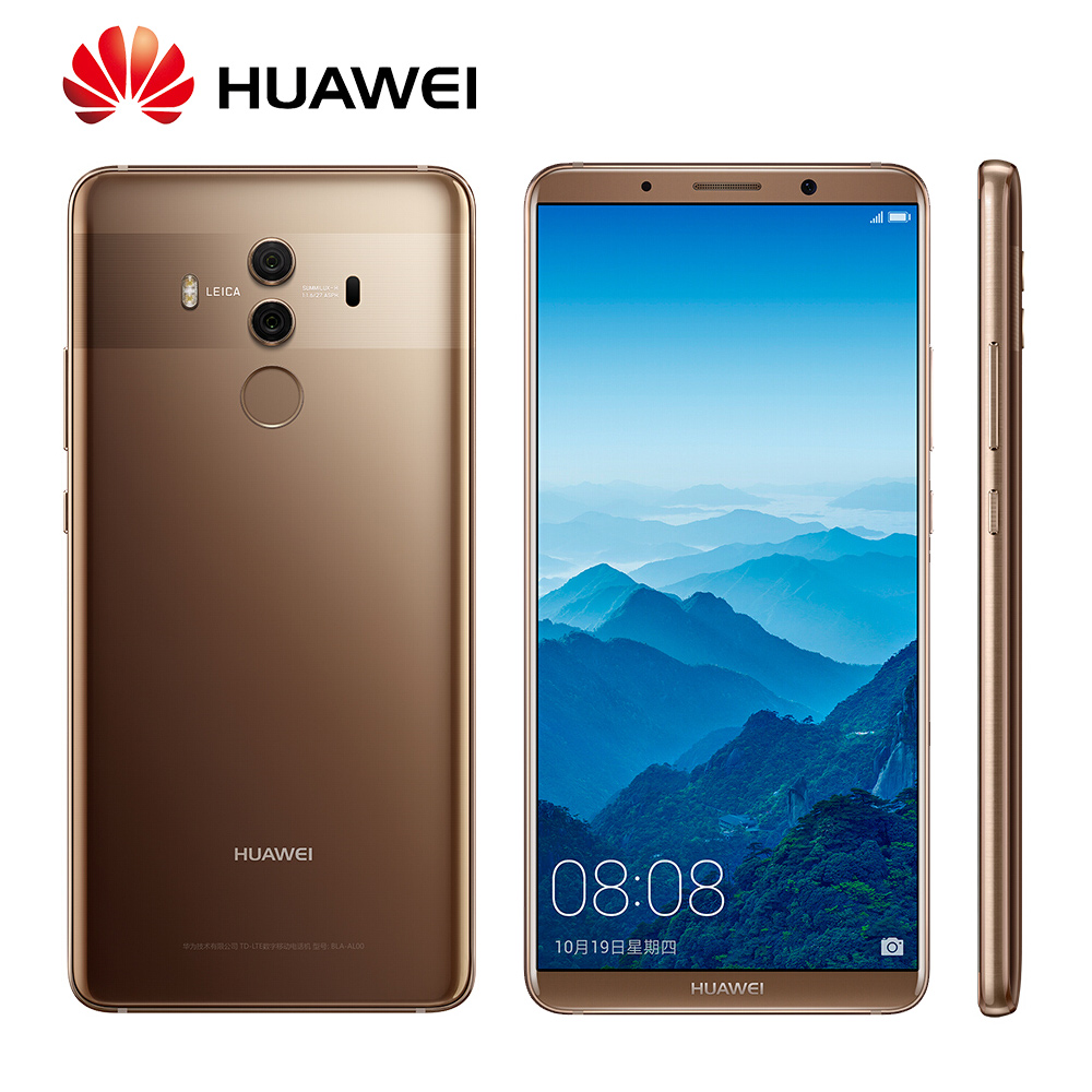 Global Rom Huawei Mate 10 Pro OTA Update Kirin 960 Octa Core Android 8.0 Fingerprint 20MP Rear camera 4G LTE Mobile Phone