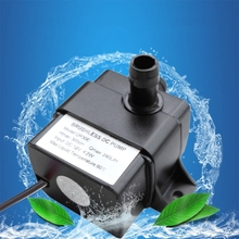 5W 240L/H Brushless Water Pump Submersible Electric Pumping Low Noise Aquarium Fish Fountain Waterproof 12V Land Dual-Use