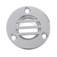 """1 stainless steel 316 Stainless Steel Boat Yacht Deck Drain Scupper 1.77"""" x 1"""" (5)"""
