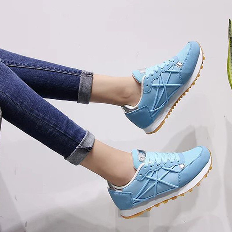 New Womens Sneakers Sport Running Shoes Women Comfortable Lace-up Trainers Outdoor Athletic Sports Shoes