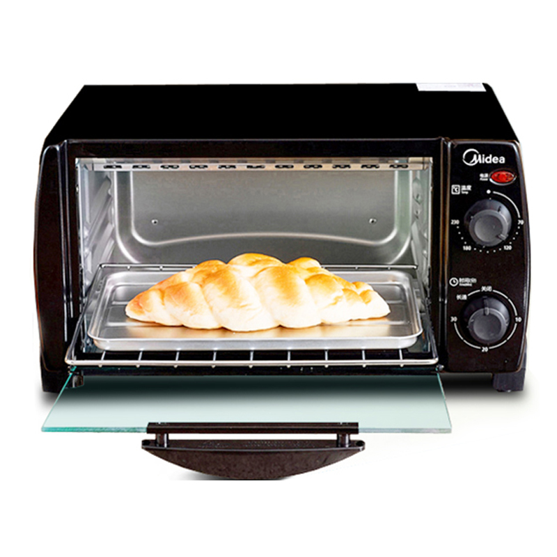 T1-L103B Multi Functional Cooker Electric Oven 10L Mini Independent Temperature Controlled Oven Bread Maker Cake Baking Machine multi function home mechanical 19l electric oven horizontal cake bread baking machine mini oven temperature control timing gift
