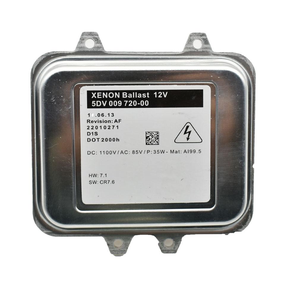 Новый блок управления балластом ксенона для Opel Astra J Insignia 5DV009720-00 5DV 009 720 00 1232335