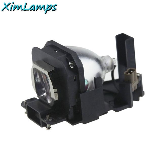 Xim lâmpadas nova marca et-lax100 projetor de substituição com habitação para panasonic pt-ax100; pt-ax100e garantia 180 dias