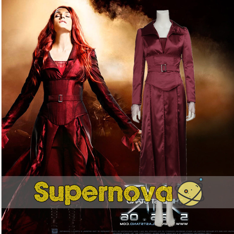 X Men Phoenix font b Jean b font Grey Cospaly Costume The Last Stand Superhero Sci