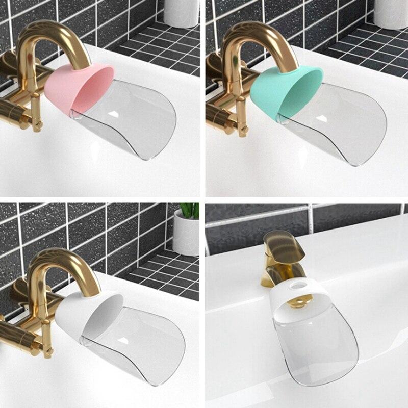 Kids Faucet Extender Spreader for Children Water Nozzle Faucet Sink Faucet Kitchen Sink Faucet Bathroom Accessories