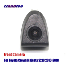 Liandlee AUTO CAM Car Front View Camera For Toyota Crown Majesta S210 2013-2018  2015 ( Not Reverse Rear Parking Camera ) liandlee car front view camera auto cam not reverse rear parking camera for toyota auris 2012 2018 2013 2014 2015