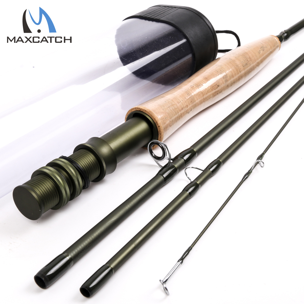 ФОТО Maximumcatch Fly Fishing Rod 8.6FT 4WT Fast Action Superfine Carbon Fly Rod