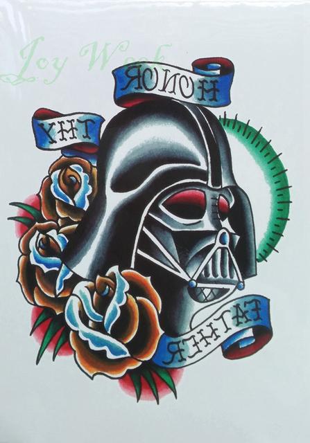 Star Wars Waterproof Temporary Tattoo Sticker