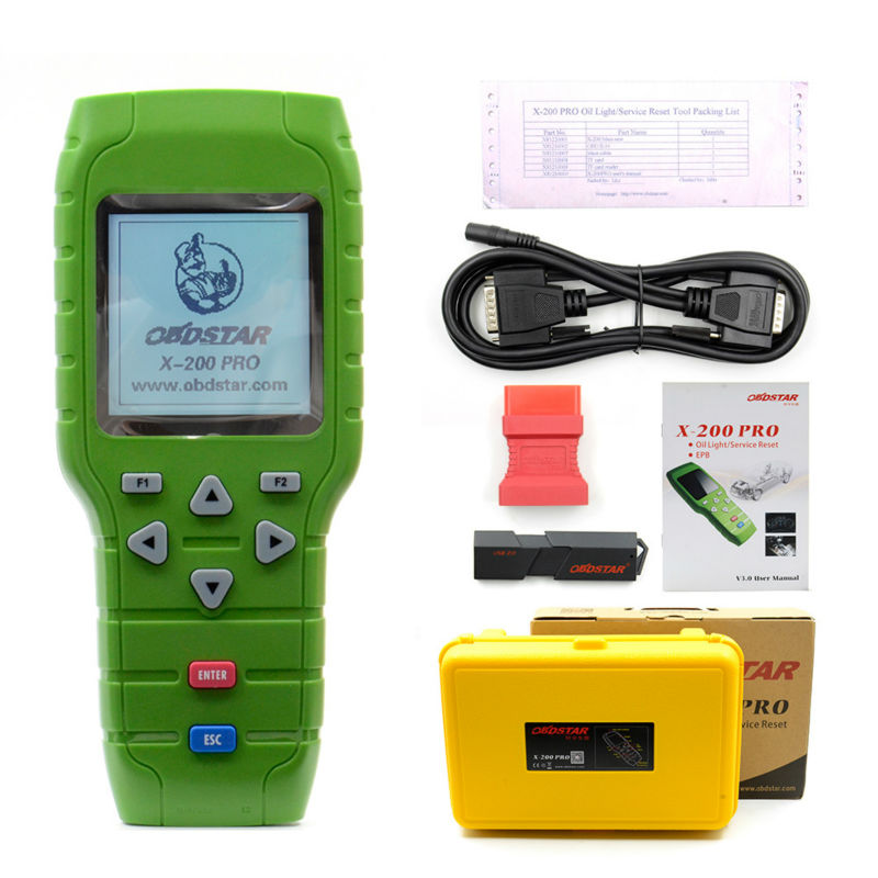 Image 2 - OBDSTAR X 200 X200 Pro A+B Type for Oil Reset + OBD Software + EPB Function Update Online