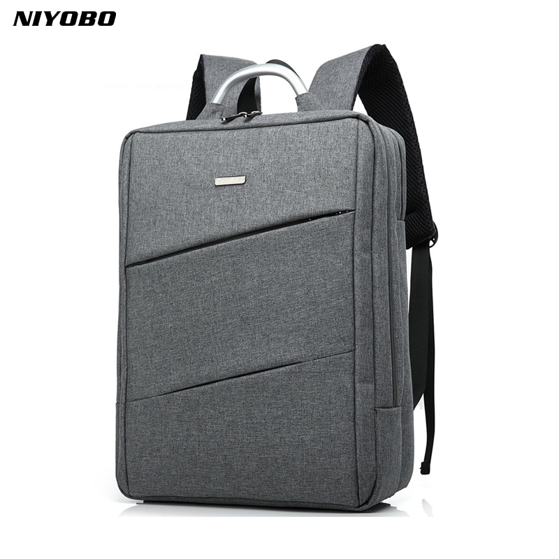 NIYOBO High Quality Men Waterproof Oxford Backpack 14 Inch Laptop Notebook Bag Business Computer Backpack Unisex Travel Backpack силиконовый чехол с рамкой для samsung galaxy s7 df scase 32 gold