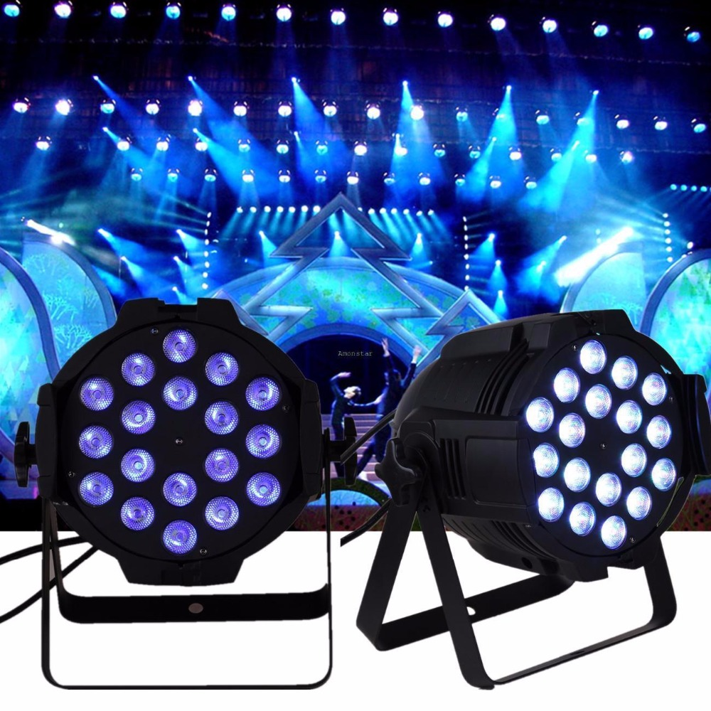 (Ship from USA) 2Pcs 18x8W RGBW LED PAR Light Stage Wash DMX 8CH DJ Disco Party Show DJ Wedding(Ship from USA) 2Pcs 18x8W RGBW LED PAR Light Stage Wash DMX 8CH DJ Disco Party Show DJ Wedding