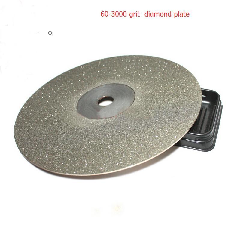 Disque abrasif Diatools roue à disque diamant poli Jade 150*13mm grain 60-grain 3000
