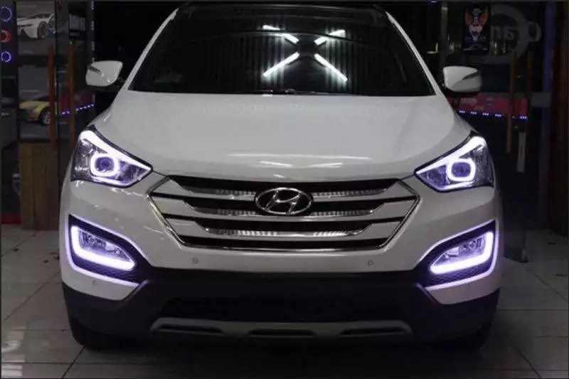 Led Drl Daytime Running Light For Hyundai Ix45 New Santa Fe 2017 15 Parking