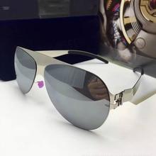 High Quality Metal Frame Aviator Sunglasses Men Luxury Fashion Brand Designer Superstar Driving Polarized Gafas De Sol Hombre