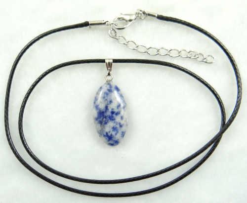 Naturale cristallo di Quarzo pietra lapis Turchesi avventurina occhio di tigre occhio del Cavallo del pendente Monili che fanno collana Accessories1pcs