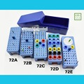Dental Sterilize Plastic 72HOLES Endo Box for Diamond burs Reamer and Gutta Percha points
