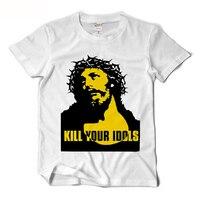 Guns N Roses Alx Rose Same T Shirt Men Kill Your Idols Funny T Shirts Rock