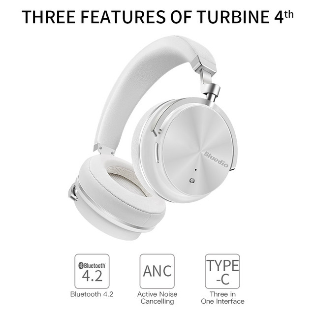 Bluedio T4 Headphone Wireless Bluetooth Headphones/Earphones with Microphone Bluetooth Music Headset
