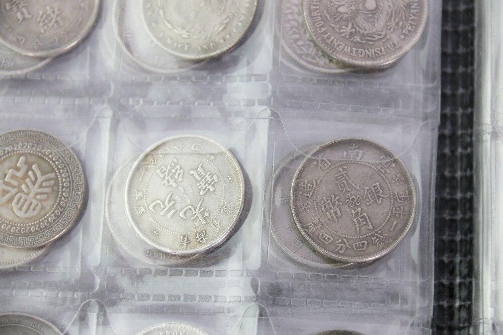 Stock de monedas de china incluye coleccionables de 120 piezas de artesanía de metal de moneda china antigua - 5