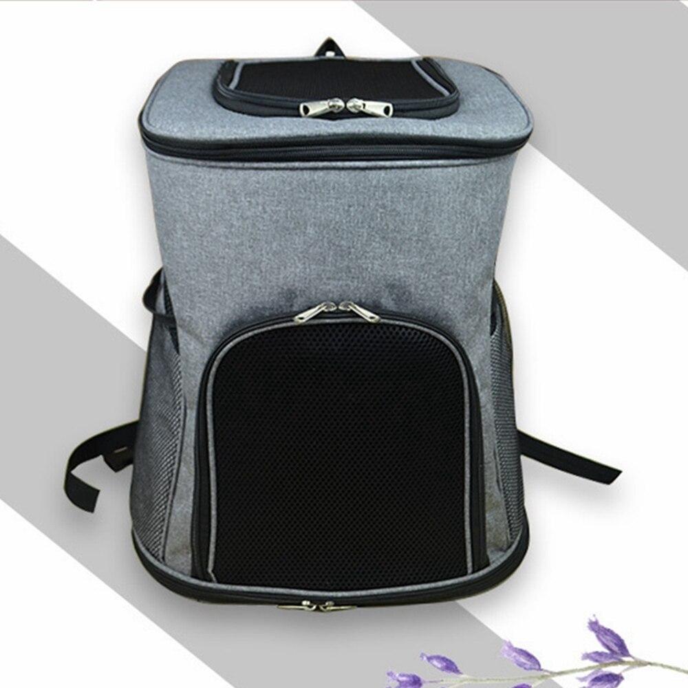Sac à dos pour animaux de compagnie confortable transporteur pour animaux de compagnie respirant pour chiens chats Portable chiot chien sac à dos chaton sac transporteur Pet sacs de voyage