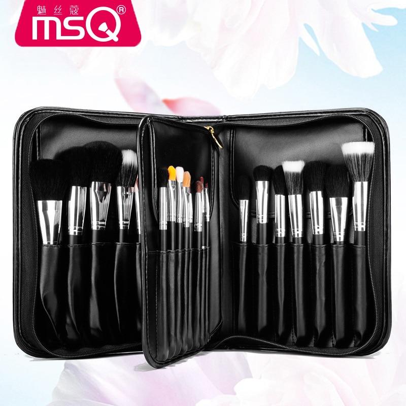 MSQ 29 Uds juego de brochas de maquillaje profesional Kit de herramientas de maquillaje de alta calidad función completa Premium