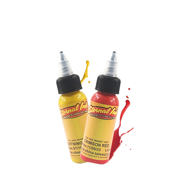 Microblading Pigmentos Tattoo Ink Set Body Arts 30ML Professinal Beauty Permanent Makesup Paints 16 color set 3