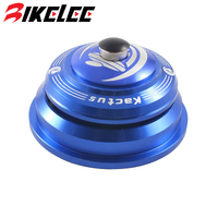 New 2017 Hot 44mm Bicycle Headset Top Cap Mountain Road Bike Washer Bearing Headset Tapered 118g Blue Red 5 Colors Bike Parts