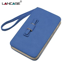 Lancase Leather Phone Bag For Xiaomi Redmi 4 Pro Case PU Wallet Case For Xiaomi Redmi