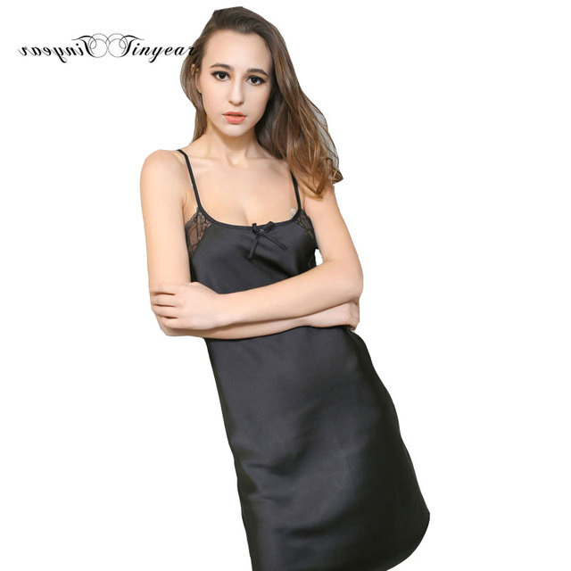 ad419a694d Good quality sexy intimate apparel vintage nightie soft breathable  sleeveless romantic nightwear sheer nightdress free shipping