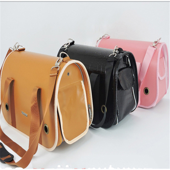 Backpack To Carry Leather Dog Transport Box Bag Pet Shipping Crate Borse Per Cani Chihuahua Pet Dog Bag Handbags Supplies DDM980 1
