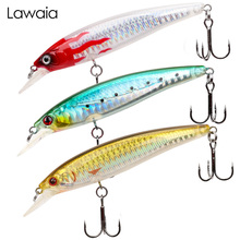 Lawaia Fishing Lure 95mm/9g Dive Depth 1 meter Minorlua Non-fading High School Fish Rate Simulation Bait Hard Plastic Lures