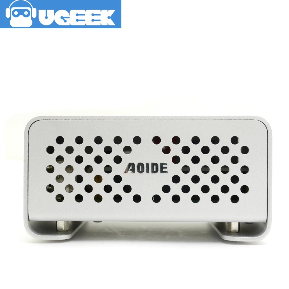Aluminium Case for UGEEK AOIDE DAC II work with Raspberry Pi 3 Model B/2B DIY your HiFi player build with Raspberry Pi!DACii