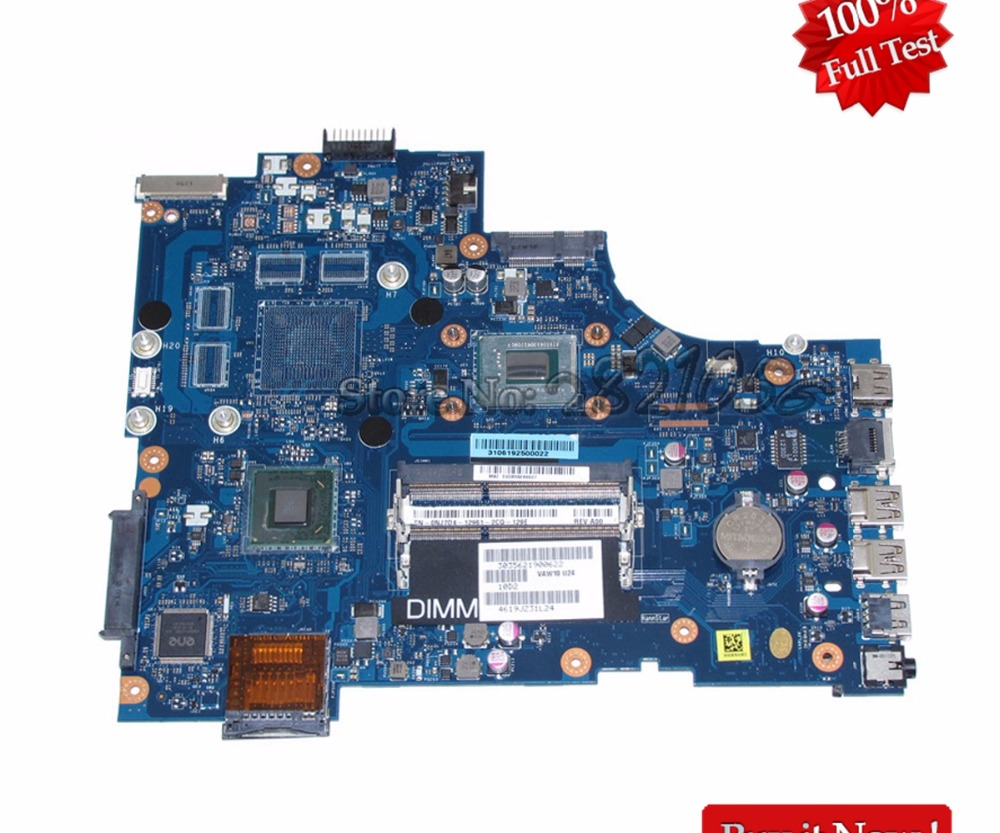 купить NOKOTION La-9102P For Dell Inspiron 17 3721 Laptop Motherboard CN-0NJ7D4 0NJ7D4 NJ7D4 MAIN BOARD 17.3'' Pentium 2117U CPU DDR3 онлайн