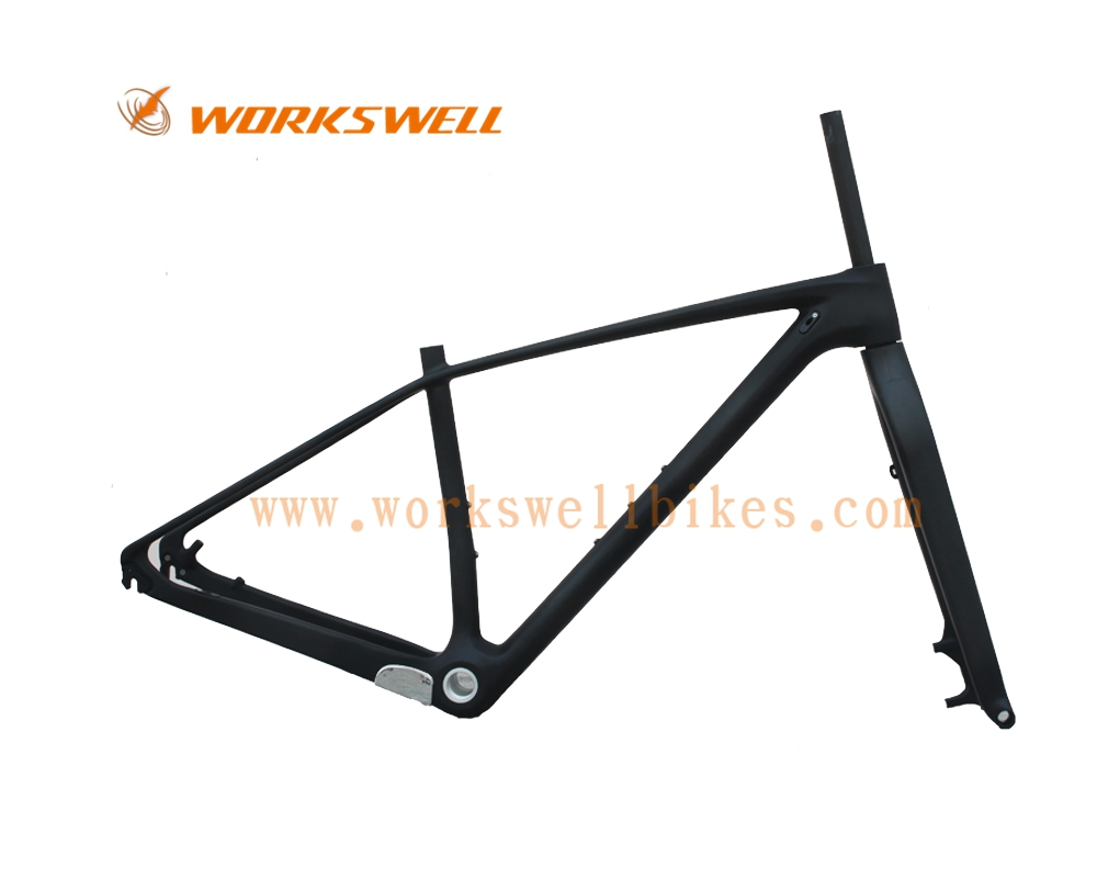 2016 workswell updated t800 carbon mtb frame 29er with fork to match 29 full carbon mountain bike frame two years warranty